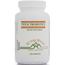 120 capsules Nutri West Total Probiotics