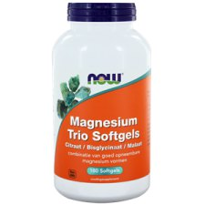180 softgels NOW Foods Magnesium Trio Softgels
