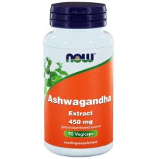 90 capsules NOW Foods Ashwagandha Extract 450 mg