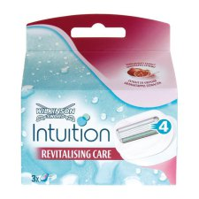 3 stuks Wilkinson Intuition Revitalising Care Scheer Cartridges