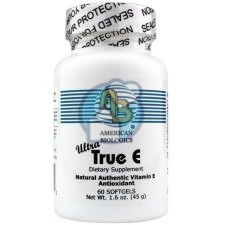 60 softgels American Biologics True E Ultra 400 IE