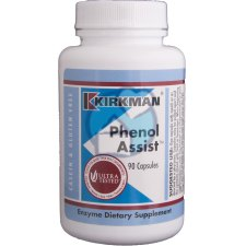 90 capsules Kirkman Phenol Assist