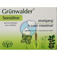 60 tabletten Grunwalder Grunwalder Sensitive