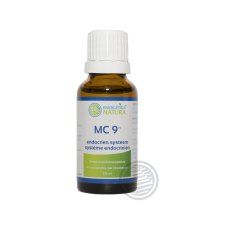 20 ml Energetica Natura Meridiaancomplex MC 9 Endocrien Systeem