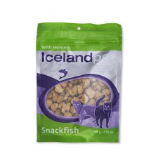 100 gram Icelandpet Snackfish Cat Treat Herring