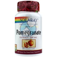 60 capsules Solaray Pomegranate Extract 200 mg