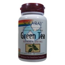 30 capsules Solaray Green Tea Extract 250 mg