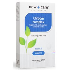 60 tabletten New Care Chroom Complex