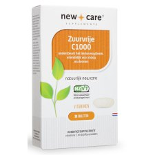 30 tabletten New Care Zuurvrije C1000