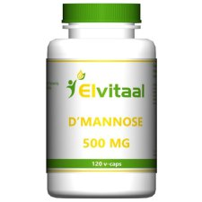 120 capsules Elvitaal D-Mannose 500 mg