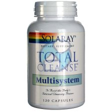 120 capsules Solaray Total Cleanse Multisystem