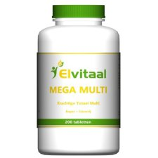 200 tabletten Elvitaal Mega Multi
