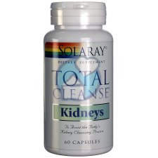 60 capsules Solaray Total Cleanse Kidneys