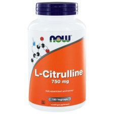 180 capsules NOW Foods L-Citrulline 750 mg