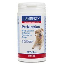90 tabletten Lamberts Pet Nutrition Multi Vitamin & Mineral Formula for Dogs
