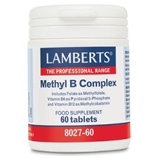 60 tabletten Lamberts Methyl B Complex