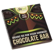 35 gram Lifefood Raw Chocolate 80% Cacao Biologisch