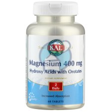 60 tabletten KAL Magnesium 400 mg