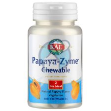 100 kauwtabletten KAL Papaya-Zyme Chewable
