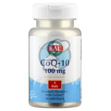 30 softgels KAL CoQ-10 100 mg