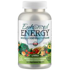 180 tabletten KAL Enhanced Energy Wholefood Multivitamin