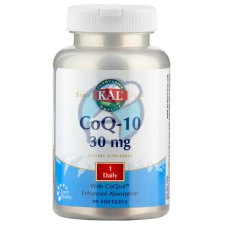 90 softgels KAL CoQ-10 30 mg