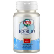 90 softgels KAL E 200 IU