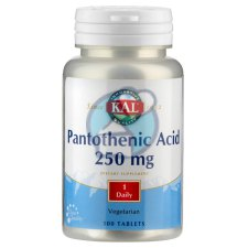 100 tabletten KAL Pantothenic Acid 250 mg