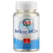 100 tabletten KAL Betaine HCl+