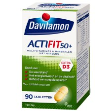 90 tabletten Davitamon Actifit 50+
