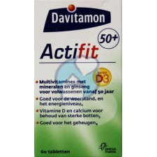 60 tabletten Davitamon Actifit 50+