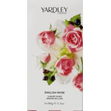3 x 100 stuks Yardley English Rose Luxury Soap