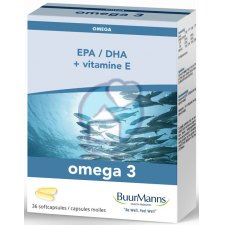 36 capsules Buurmanns Omega 3