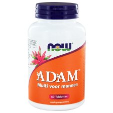 60 tabletten NOW Foods ADAM Multivitamine voor Mannen