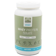 600 gram Mattisson Whey Protein Isolate