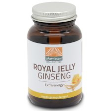 60 capsules Mattisson Royal Jelly Ginseng Extra Energie