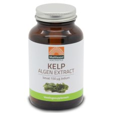 200 tabletten Mattisson Kelp Algenextract 150 mcg Jodium