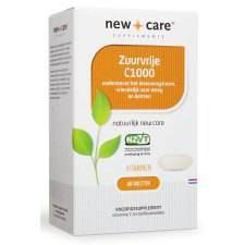 60 tabletten New Care Zuurvrije C1000