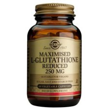 60 capsules Solgar Maximised L-Glutathione Reduced 250 mg