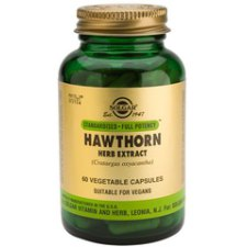 60 capsules Solgar Hawthorn Herb Extract