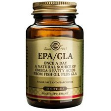 30 softgels Solgar EPA/GLA One-a-Day