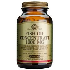 120 softgels Solgar Fish Oil Concentrate 1000 mg