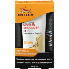 50 gram Tijgerbalsem Neck & Shoulder Rub