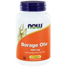 60 capsules NOW Foods Borage Olie 1000 mg