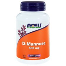 120 capsules NOW Foods D-Mannose 500 mg
