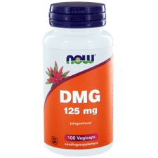 100 capsules NOW Foods DMG 125 mg