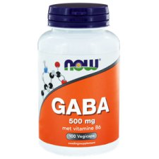 100 capsules NOW Foods GABA 500 mg