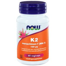 60 capsules NOW Foods K2 Menachinon-7 100 mcg