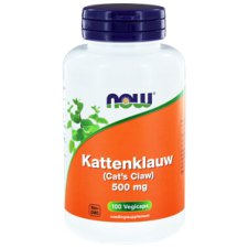 100 capsules NOW Foods Kattenklauw 500 mg