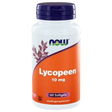 60 softgels NOW Foods Lycopeen 10 mg